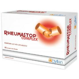 RHEUMASTOP COMPLEX, 60 COMPRIMATE, HYLLAN (PRET, PROSPECT)