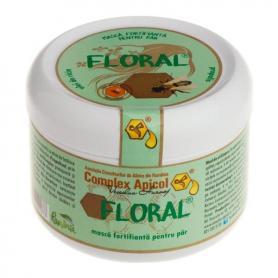Floral masca fortifianta pentru par