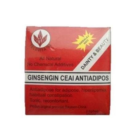 Ceai Antiadipos, chinezesc cu Ginseng, 2g x 30 plicuri, Televita