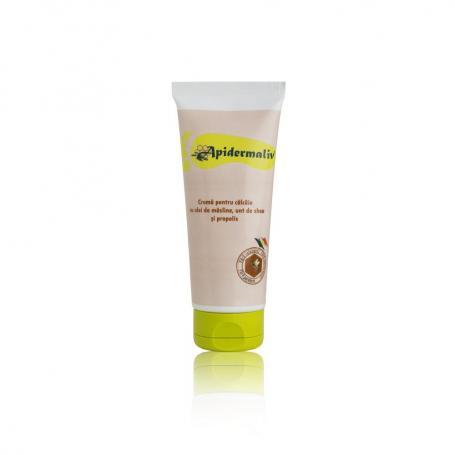 Crema de calcaie cu propolis Apidermaliv, 50 ml,Complex Apicol Baneasa