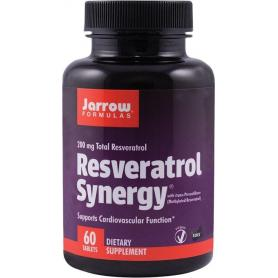 RESVERATROL SYNERGY, 200MG, 60 TABLETE, SECOM JARROW FORMULAS
