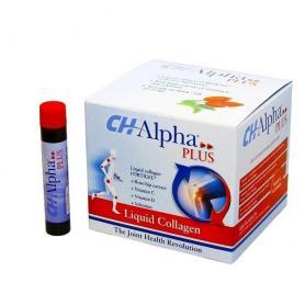 Ch Alpha plus colagen lichid, 30 fiole, Pharmalink pret, prospect