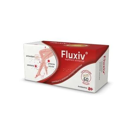 Fluxiv, 60 comprimate, Antibiotice SA
