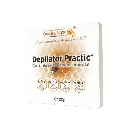 Ceara depilat, Depilator Practic, 100g, Complex Apicol