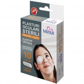 Pansament ocluziv steril Plasturi oculari ocluzor pentru copii, Minut