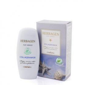 Masca cu colagen marin si spirulina Herbagen 50ml