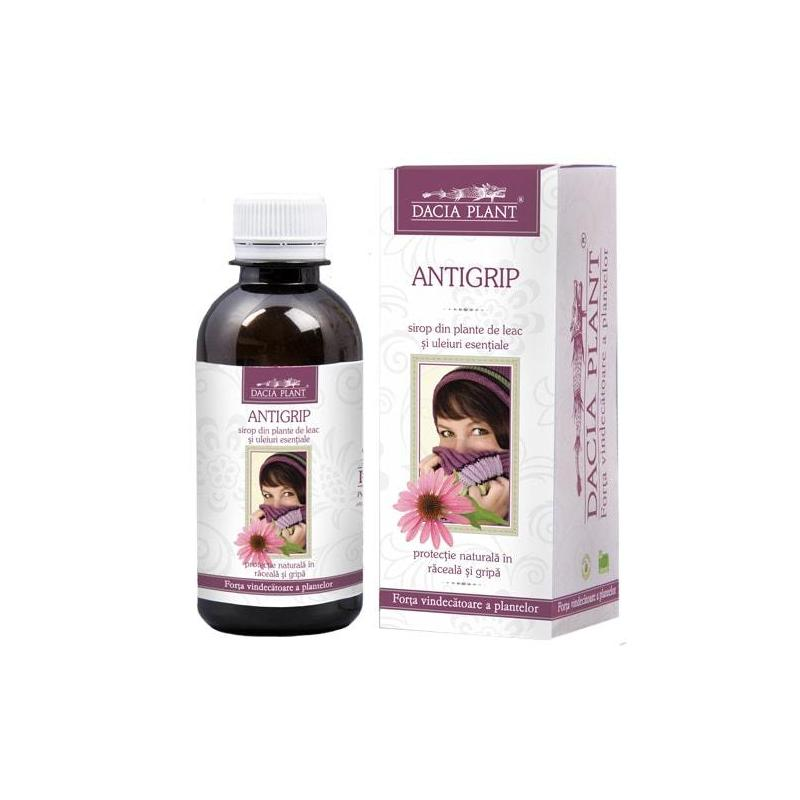 Antigrip sirop, 200 ml, Dacia Plant