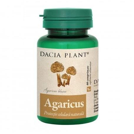 Agaricus, 60 comprimate, Dacia Plant