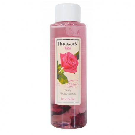 Ulei de masaj trandafir, 100 ml, Herbagen