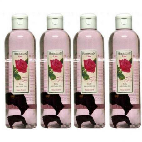 Ulei de masaj trandafir, 1000 ml, Herbagen