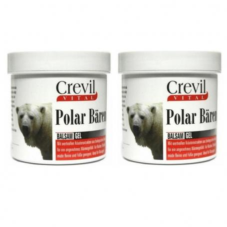 Gel reumatic, Forta Ursului Polar, 250 ml x 2 cutii, Crevil