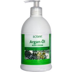 Crema de corp cu ulei de argan, 500 ml, Botanis (pompita)