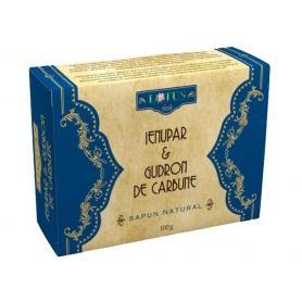 Sapun natural cu Ienupar si Gudron de Carbune, 100G, Lotus