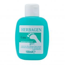 Gel antiperspirant pentru picioare, 100 ml, Herbagen