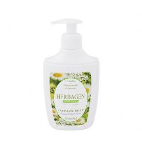 Sapun lichid intim cu extract de achillea millefolium si musetel, 350 ml, Herbagen