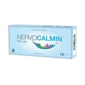 Nervocalmin fara griji, 15 capsule moi, Biofarm