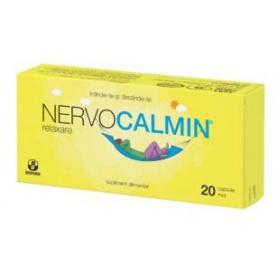 Nervocalmin Relaxare, 20 capsule moi, Biofarm