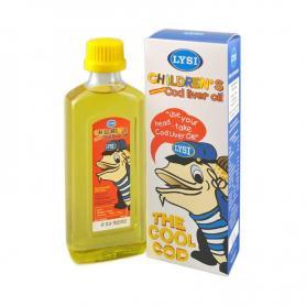 Ulei din ficat de cod pentru copii, 240 ml, Lysi