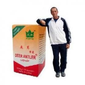 Deer Antler, Extract Corn de Cerb,100 capsule, Yong Kang