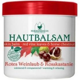 Balsam cu frunze rosii de vita de vie si castan salbatic, 250 ml, Herbamedicus