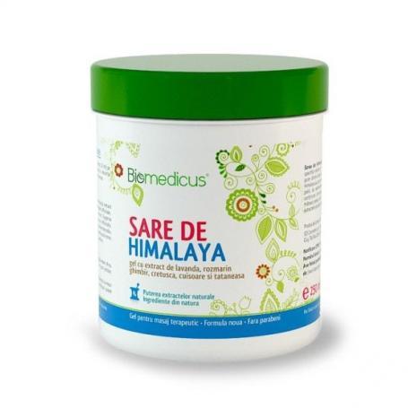 Sare de Himalaya gel, 250 ml, Biomedicus