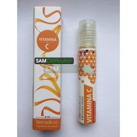 Fiole vitamina C pentru uz cosmetic, 8 ml, Biomedicus