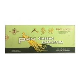 Ginseng, Panax Ginseng extractum, 10 fiole fara alcool, Sanye Intercom