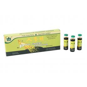 Ginseng, Panax Ginseng 2000 mg,10 fiole,Yong Kang