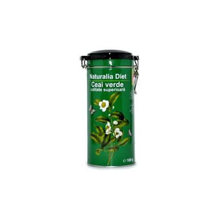 Ceai Verde Superior, 100 g, cutie metalica