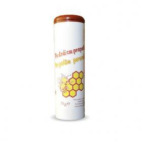 Pudra de talc cu propolis, 75 g, Mebra