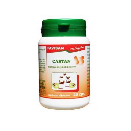 Castan, 40 capsule, Favisan