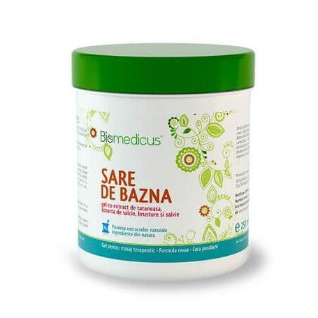 Gel antireumatic cu sare de Bazna, 250 ml, Biomedicus