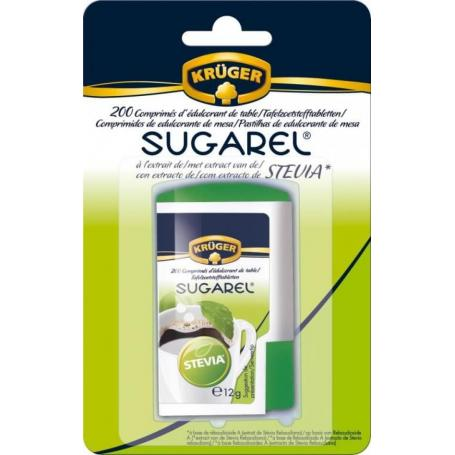 indulcitor stevie, sugarel 200 tablete
