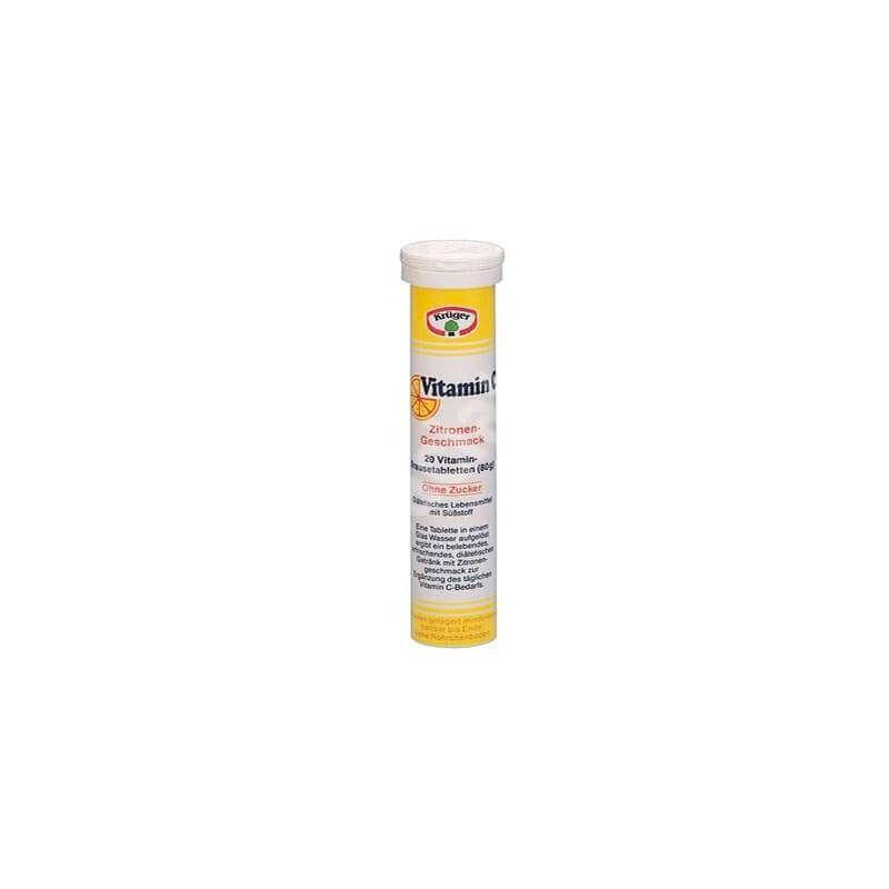 Vitamina C efervescenta,180 mg Kruger