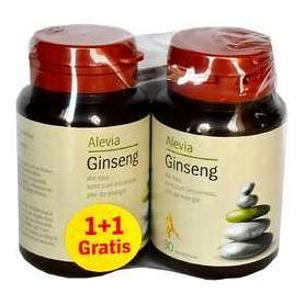 Ginseng, 30 capsule (pachet 1+1 gratis) Alevia