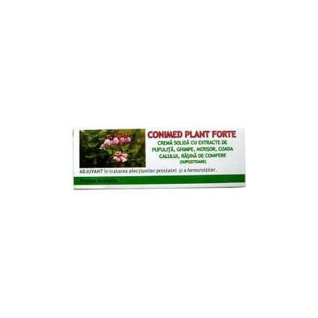 Conimed Plant Forte supozitoare, 10 X 15g, Elzin Plant