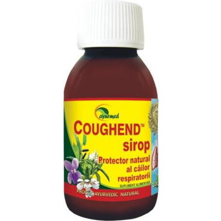 Coughend Sirop, 100 ml, Ayurmed