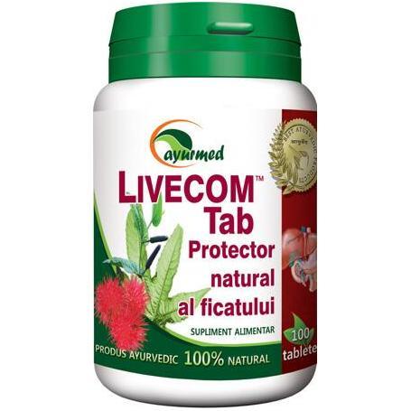 Livecom, 100 tablete, Ayurmed