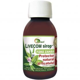 Livecom Sirop fara zahar, 100 ml, Ayurmed