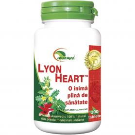 Lyon Heart, 100 tablete, Ayurmed