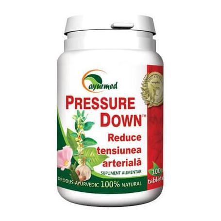 Pressure Down, 100 tablete, Ayurmed