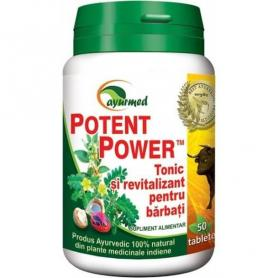 Potent Power, 50 tablete, Ayurmed
