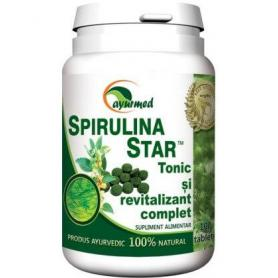 Spirulina Star, 100 tablete, Ayurmed