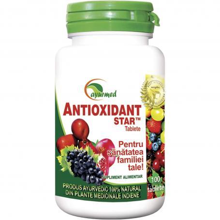 Antioxidant Star, 50 tablete, Ayurmed