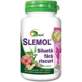 Slemol, 100 tablete, Ayurmed