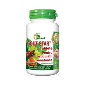 Gout Star, 100 tablete, Ayurmed