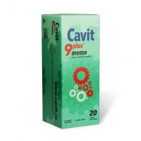 Cavit 9 Plus Memo, 20 tablete masticabile, Biofarm