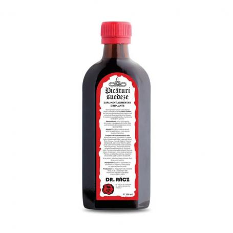 Picaturi Suedeze, Bitter Bano 250 ml