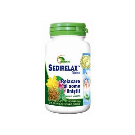 Sedirelax, 100 tablete, Ayurmed
