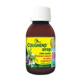 Coughend Sirop fara zahar, 100 ml, Ayurmed